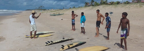 Surf Camp in Brasilien